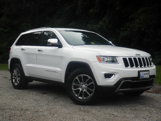 Preowned 2016 Jeep Grand Cherokee Limited 4x4 Suv In Gloucester