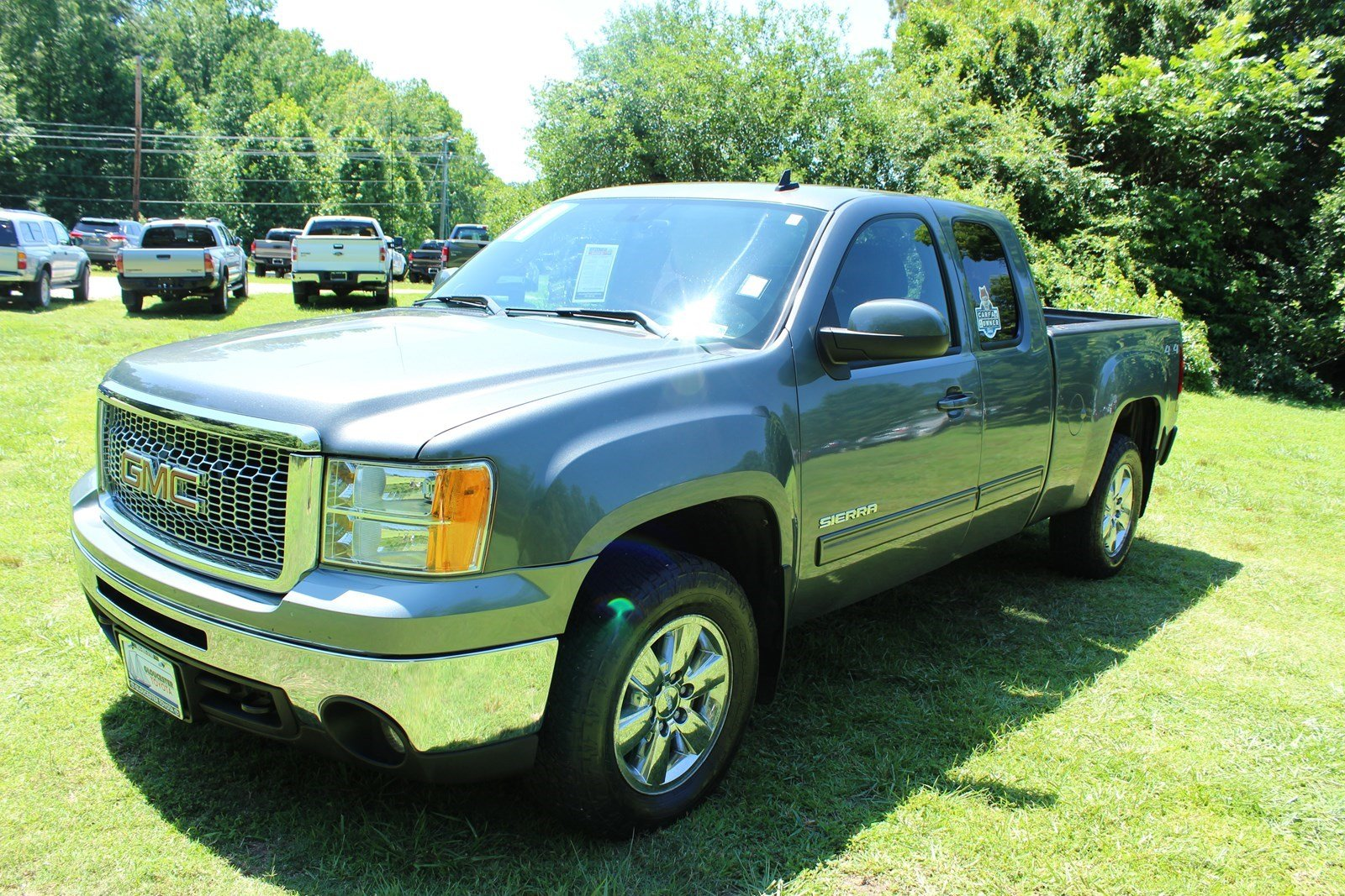 sierra gmc 1500 slt 4wd cab owned pre extended toyota