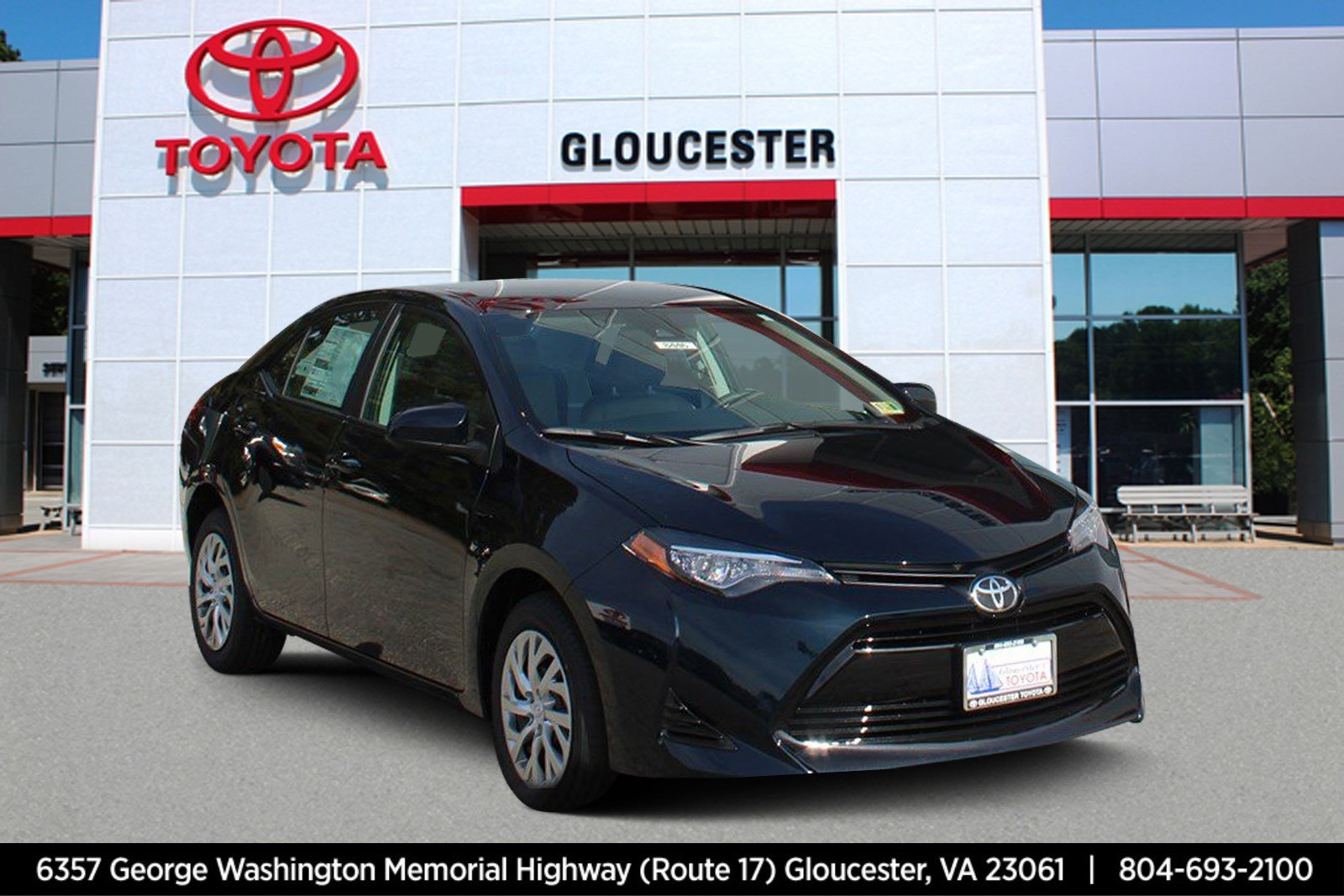 New 2019 Toyota Corolla Le 4dr Car In Gloucester 8446 Gloucester