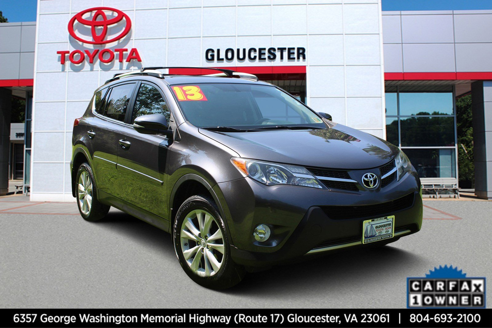 ... Pre Owned 2013 Toyota RAV4 Limited Sport Utility In Gloucester