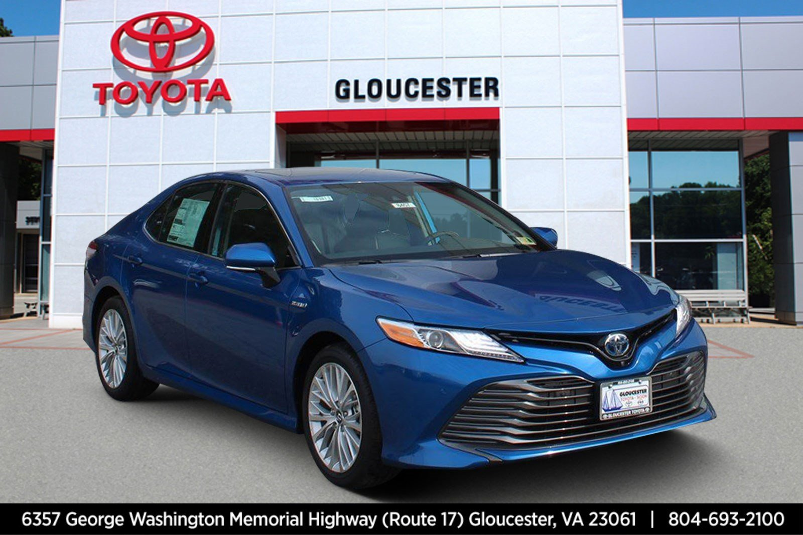 new 2019 toyota camry hybrid xle 4dr car in gloucester. Black Bedroom Furniture Sets. Home Design Ideas
