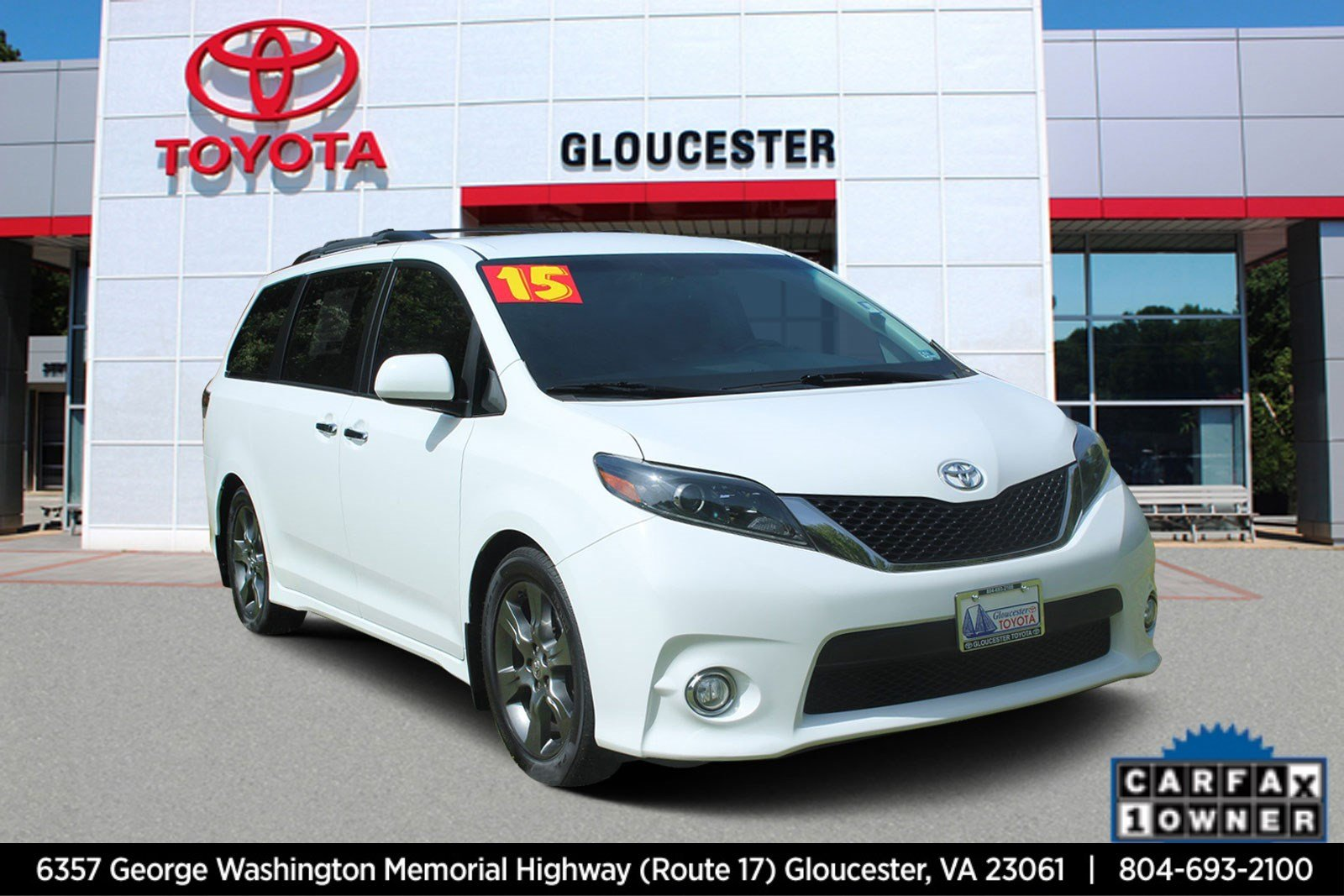 Pre-Owned 2015 Toyota Sienna SE
