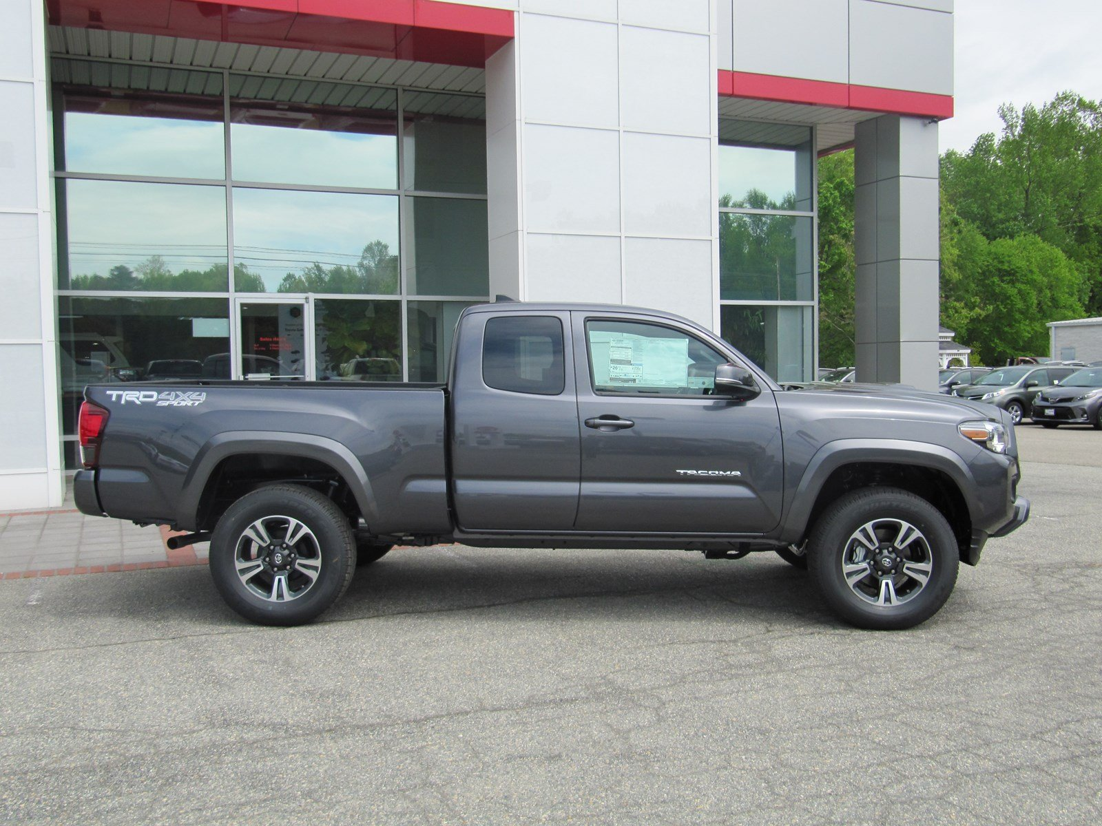 tacoma bed trd cab toyota used double sport automatic detail