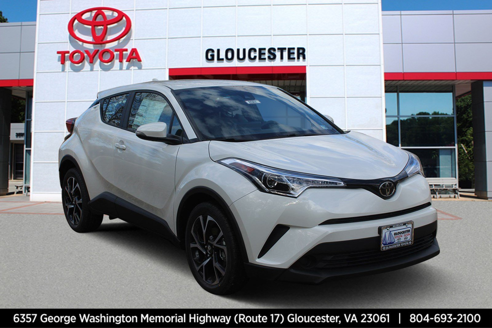 New 2019 Toyota C Hr Xle Sport Utility In Gloucester 8561